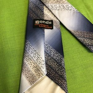 Bonds International Collection Accessories - 🇺🇸SALE♦️Blue/Tan Tie